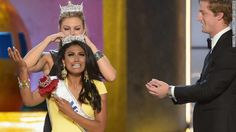 Is the Twitterverse the angriest place on the Internet? CNN  Twitter has become a go to place for various updates, funny jokes and story telling. But it also has become a place for extremely negative remarks and opinions. Nina Dabuluri was crowned Miss America on Sunday and the twitter world went crazy with negative remarks about her ethnicity. Twitter is a very popular use of technology, but also a place for people to post their opinions good or bad. Alexa T.