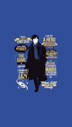 The game is something - drunk Sherlock Sherlock Holmes Series, Sherlock Moriarty, Sherlock Holmes Benedict Cumberbatch, Sherlock Fandom, Sherlock Quotes, Sherlock John, Funny Sherlock, Watson Sherlock, Sherlock Poster