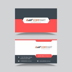 Elegant visiting card free vector palletes pinterest free business card template free vector reheart Gallery