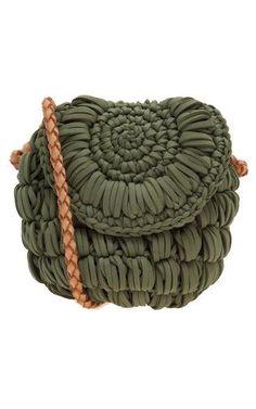 Bolsa tiracolo circle - verde
