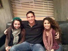 Caviezel  | Jim Caviezel with some lucky fans