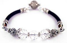 Leather Bracelets: Handmade Beaded Leather Bracelets