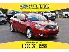 2014 Red Buick Verano Leather Group 37463P
