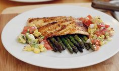 Grilled Tilapia Recipes   Grilled Tilapia with Sweet Corn, Tomato, and Avocado Salsa ...   Reci ...
