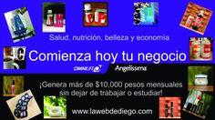 Inicia ya!!! Omnilife/Angelíssima te espera :) únete a mi red y te enseñaré a generar más de $10,000 pesos al mes.