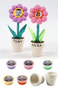 Get creative with Silk Clay & Foam Clay, a non-toxic colourful modelling clay for adults and kids alike. Available in a bright range of colours and ready to use kits. Clay Crafts For Kids, Preschool Crafts, Arts And Crafts, Clay Supplies, Clay Flower Pots, Creative Box, Diy Slime, Crafty Kids, White Clay