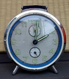 画像1: セイコー・コロナ・BI-TONE・昭和30年代ベル付目覚まし・手巻き
