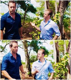 DANNY IS THE TINIEST LITTLE PINEAPPLE ლ(╹◡╹ლ) alex o'loughlin  scott caan  hawaii five 0  mcdanno    h50: 6x01  fun size detective  honestly it looks more extreme this season  did alex sprout a couple of extra inches  did scott shrink  what happened  whenever they stand around the table I have to pause and laugh fondly