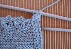 tutoriales depunto dos agujas, knit, bebé, recien nacido, newborn