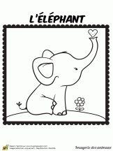 Coloriage imagerie des animaux sur Hugolescargot.com