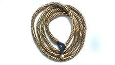 Long Necklace. 101cm Brass.