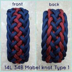 14L 34B Mabel knot type 1 - my innovation