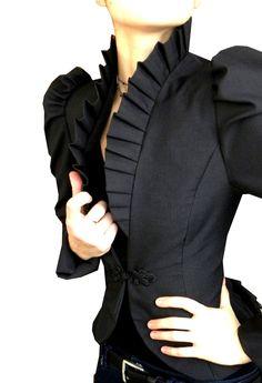 Victorian-inspired blazer