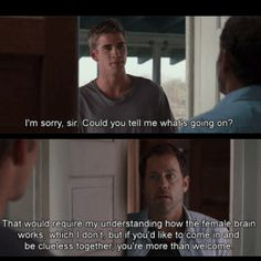 The Last Song- I cry every time I watch this movie but this part was hilarious