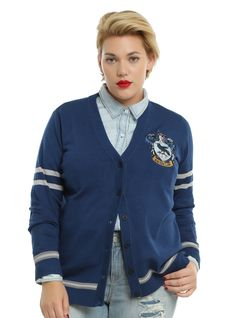 Harry Potter Ravenclaw Girls Cardigan Plus Size | Hot Topic