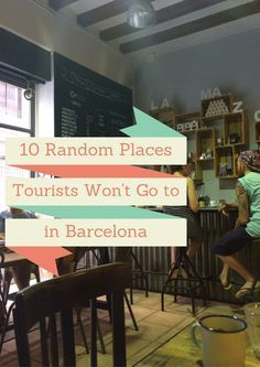 Go off the beaten path in Barcelona!