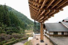 Gallery of Yusuhara Wooden Bridge Museum / Kengo Kuma & Associates - 2