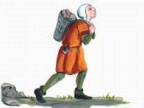 Un treballador de la edat mitjana