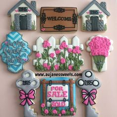 New Home owner cookie set