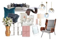 """""""Macam Produk Rumah"""" by firdha223 on Polyvore featuring interior, interiors, interior design, home, home decor, interior decorating, Zuo, Pottery Barn, Home Decorators Collection and Child Of Wild"""