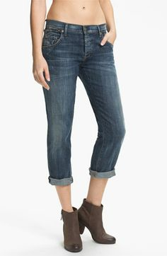 Citizens of Humanity 'Dylan' Crop Relaxed Fit Jeans (Drama) available at Nordstrom