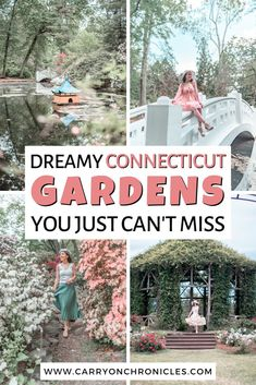 Despite being the third smallest state, Connecticut is rich in natural beauty. Here are ten dreamy gardens in Connecticut you can't miss. #gardensofconnecticut #connecticutgardens #connecticuttravel #visitconnecticut #newenglandgardens