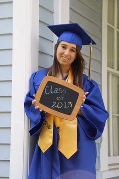 Senior Cap & Gown Photo Idea