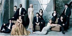 "APRIL 1998: ""THE HOT NEXT WAVE"" Joaquin Phoenix, Vince Vaughn, Natalie Portman, Djimon Hounsou, Cate Blanchett, Tobey Maguire, Claire Forlani, Gretchen Mol, Christina Ricci, Ed Furlong, and Rufus Sewell."
