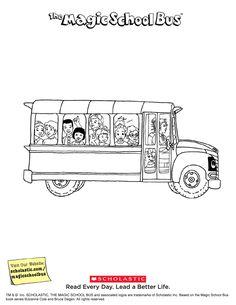 Worksheet: The Magic School Bus Gets Lost in Space