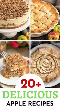 Best Apple Recipes, Best Dessert Recipes, Fruit Recipes, Desert Recipes, Easy Desserts, Fall Recipes, Baking Recipes, Favorite Recipes, Autumn Apple Recipes