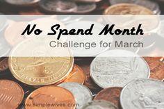 No Spend Month #Challenge!
