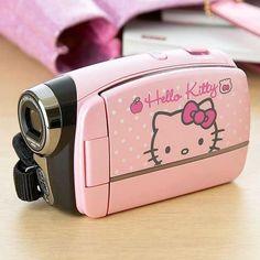 Hello Kitty Video Camera so cute Hello Kitty Haus, Hello Kitty Items, Hello Kitty Stuff, Hello Kitty Bedroom, Hello Kitty Makeup, Hello Kitty Pictures, Girly Things, Cool Things To Buy, Kawaii Things