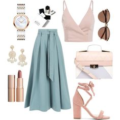 Untitled #362 by nastiazaporozhchenko on Polyvore featuring Temperley London, Raye, Dorothy Perkins, Movado, Humble Chic, Witchery, Charlotte Tilbury and H&M