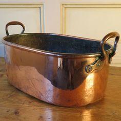 antique outdoor cooking pots | Antique French Copper Pot c1900