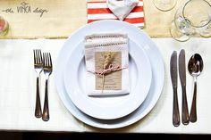 Vinca Design, rustic wedding, wedding stationery, menu, fabric napkin // rusztikus esküvő, menükártya, textilszalvéta Table Decorations, Design, Home Decor, Decoration Home, Room Decor, Home Interior Design, Dinner Table Decorations, Home Decoration