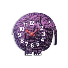 This clock would be adorable in a kids room!