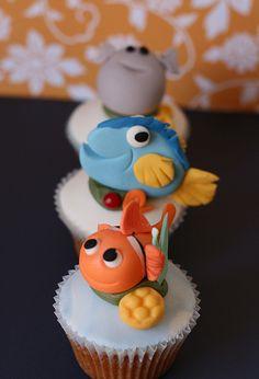 Nemo & Friends Cupcakes