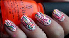DIY Nail Art   Carnaval ~ Beautyill   Beautyblog met nail art, nagellak, make-up reviews en meer!