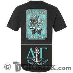 TGI Greek - Delta Gamma - University of Tulsa - Comfort Colors - Formal - Greek T-shirts #TGIGreek #DeltaGamma