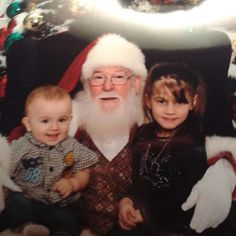 Vote for My Grandchildren in Magical Moments With Santa