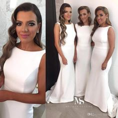2f4b9cc85974 2018 Newest Design Elegant Mermaid Lace Top Bridesmaid Dresses Two Pieces  Appliqued Half Long Sleeves Plus Size Cheap Bridesmaids Gowns Cream  Bridesmaid ...