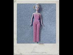Crochet - Barbie's Jumpsuit - YouTube