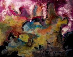 Bali Hai, mixed media on canvas  100cms x 80cms