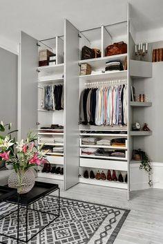 create a dressing, original dressing room - Walk In Closet Design, Bedroom Closet Design, Master Bedroom Closet, Bedroom Wardrobe, Wardrobe Design, Closet Designs, Bedroom Storage, Bedroom Decor, Closet Interior