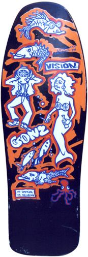 mark gonzales skate decks - Google Search