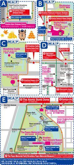 Hiroshima Sight seeing loop bus