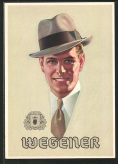 Wegener postcard.