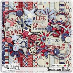 American Made by Bella Gypsy at ScrapOrchard