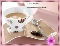 JÓ REGGELT! - donerika.lapunk.hu Good Morning, Tableware, Facebook, Buen Dia, Dinnerware, Bonjour, Tablewares, Dishes, Place Settings