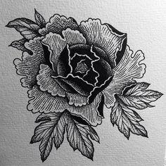 Japanese peony #tattoo #tattoos #tattooart #tattoowork #tattooworker #tattoo_artiest #tats #peony#plants #japan#japanese#black #blackart #blackwork #blacktattoo #blackworker #dot #dots #dotart #dotwork #dottattoo #line #line_art #linework #linetattoo